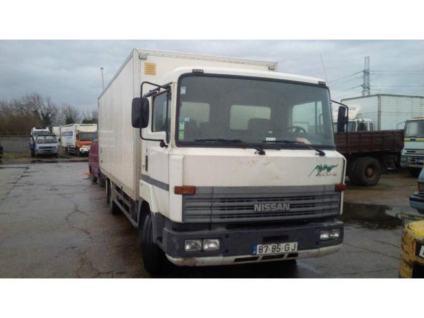 LHD Nissan box lorry.