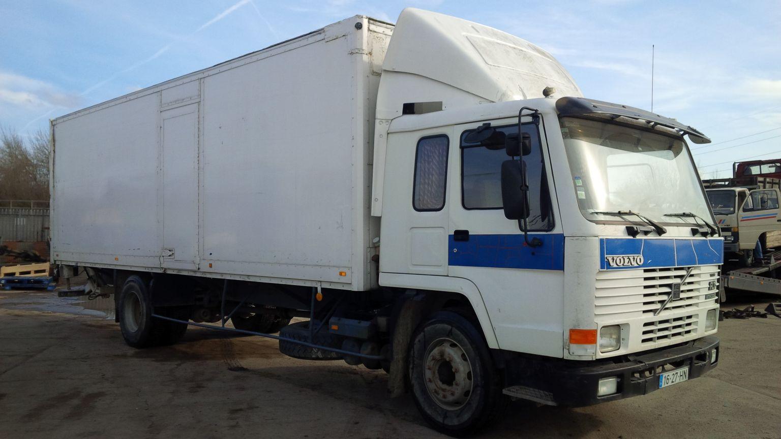 LHD Volvo box lorry.