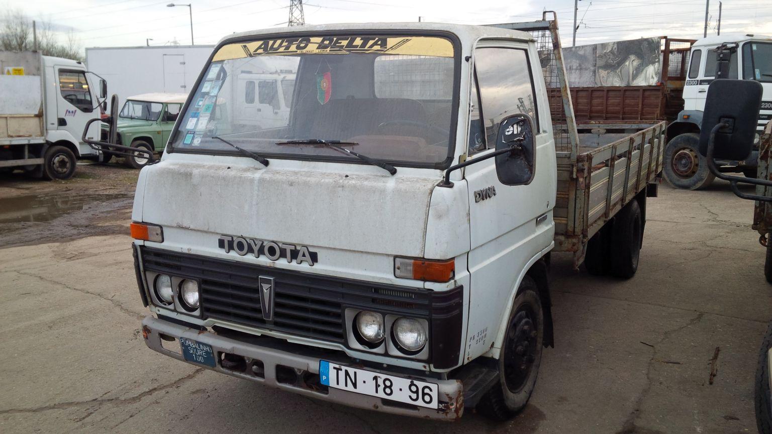 LHD Toyota Dyna BU30