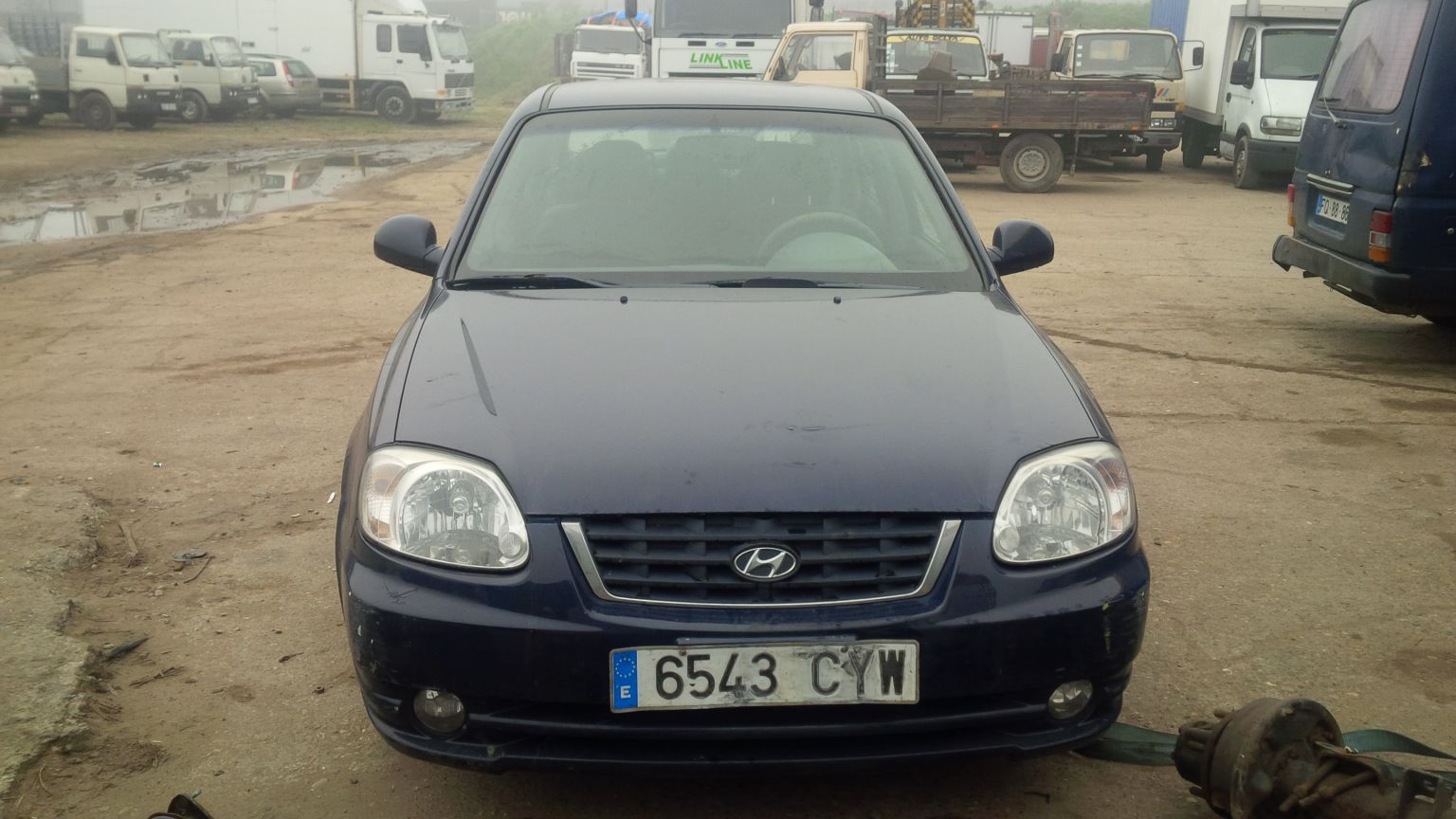 LHD Hyundai Accent