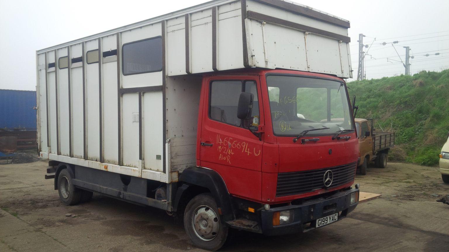 Mercedes 814 box