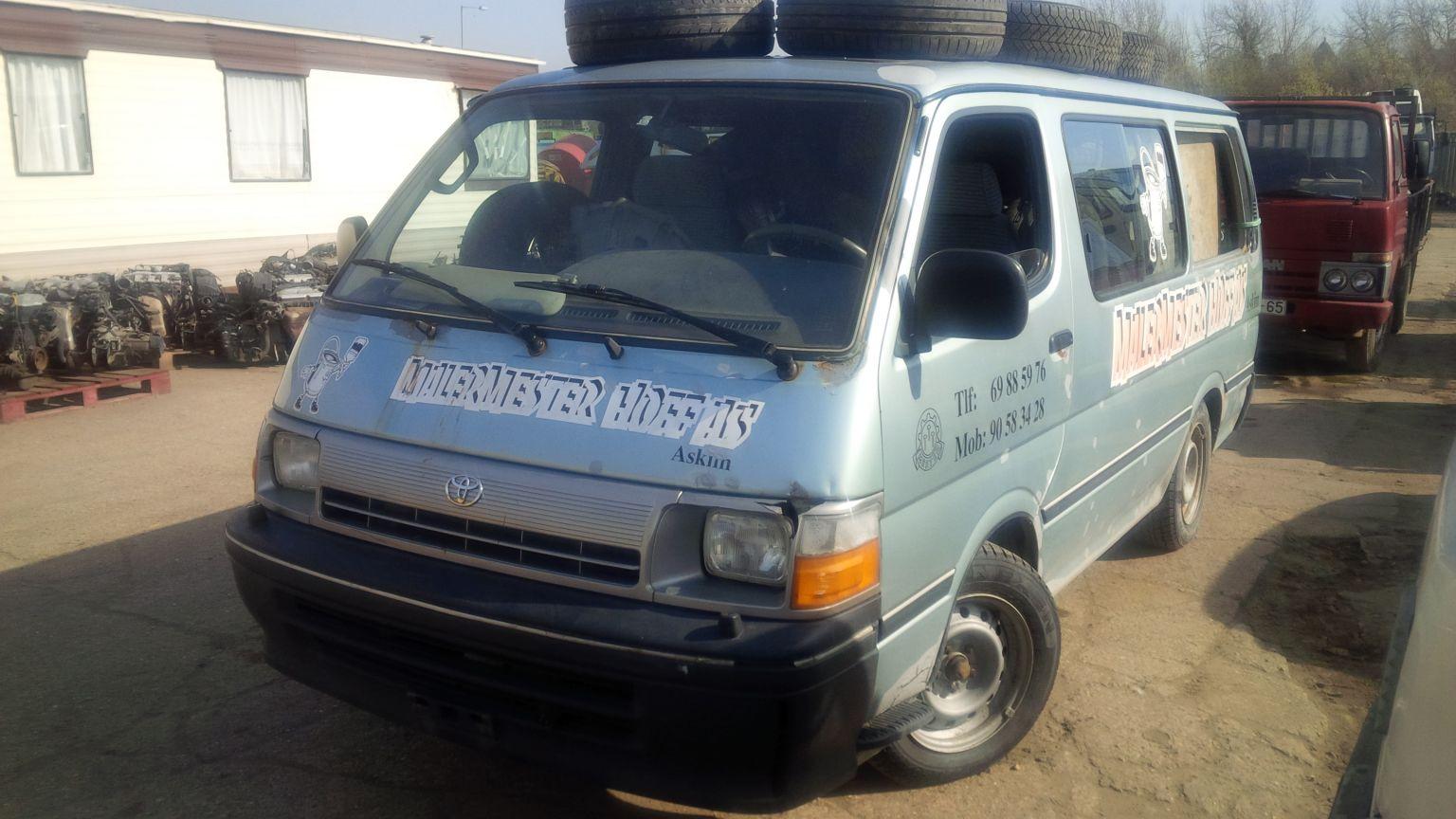 LHD Toyota Hiace bus