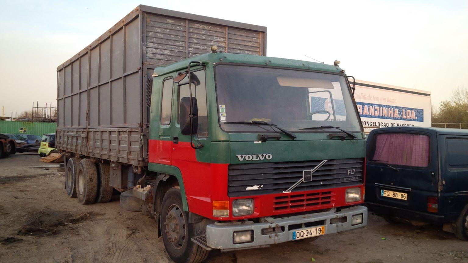 LHD Volvo FL7 26 Ton