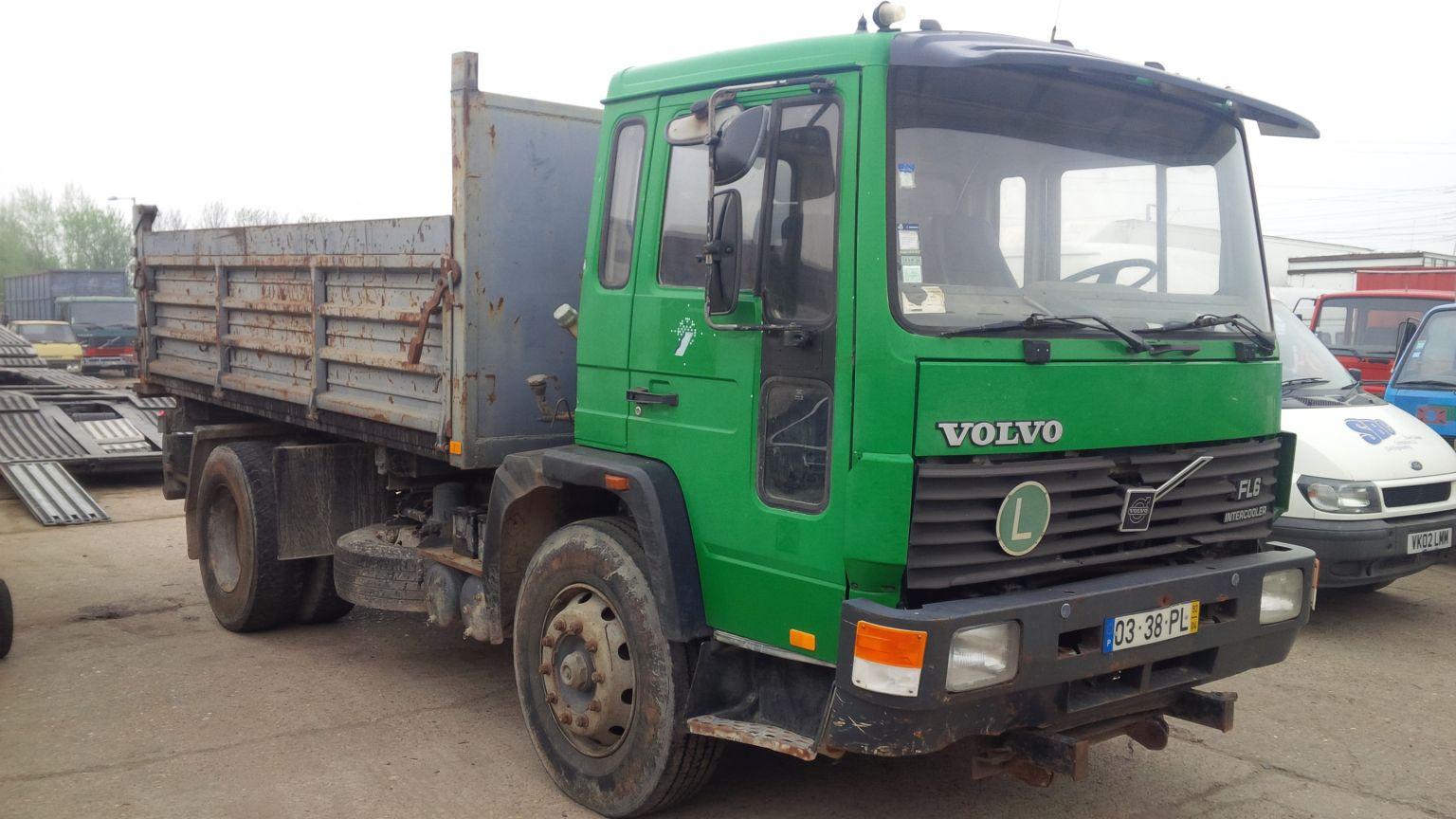 LHD Volvo FL6 18 tipper