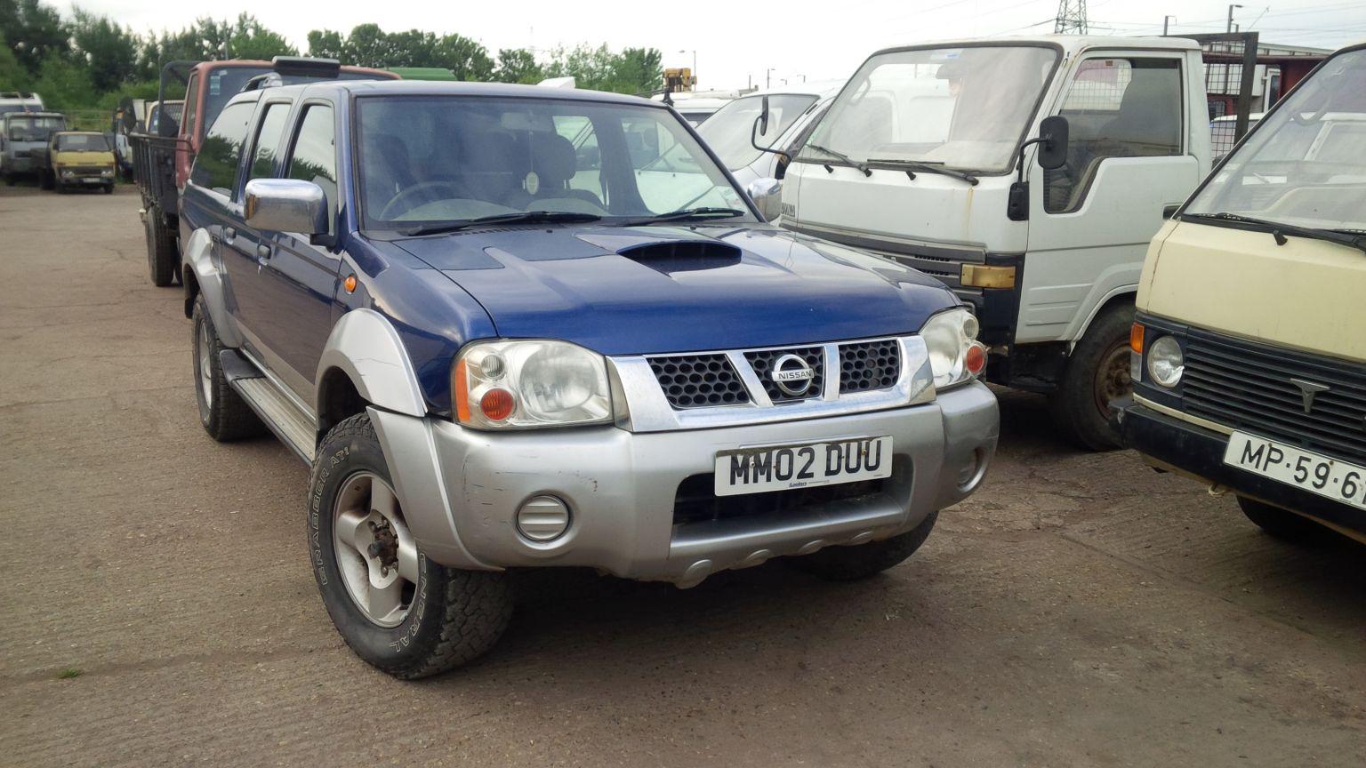 Nissan Navara 4×4.