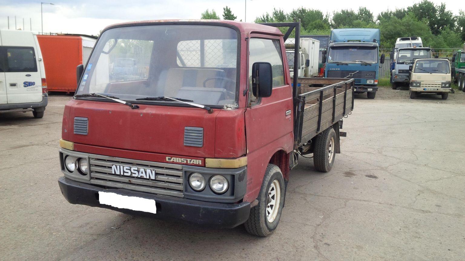 LHD Nissan Cabstar