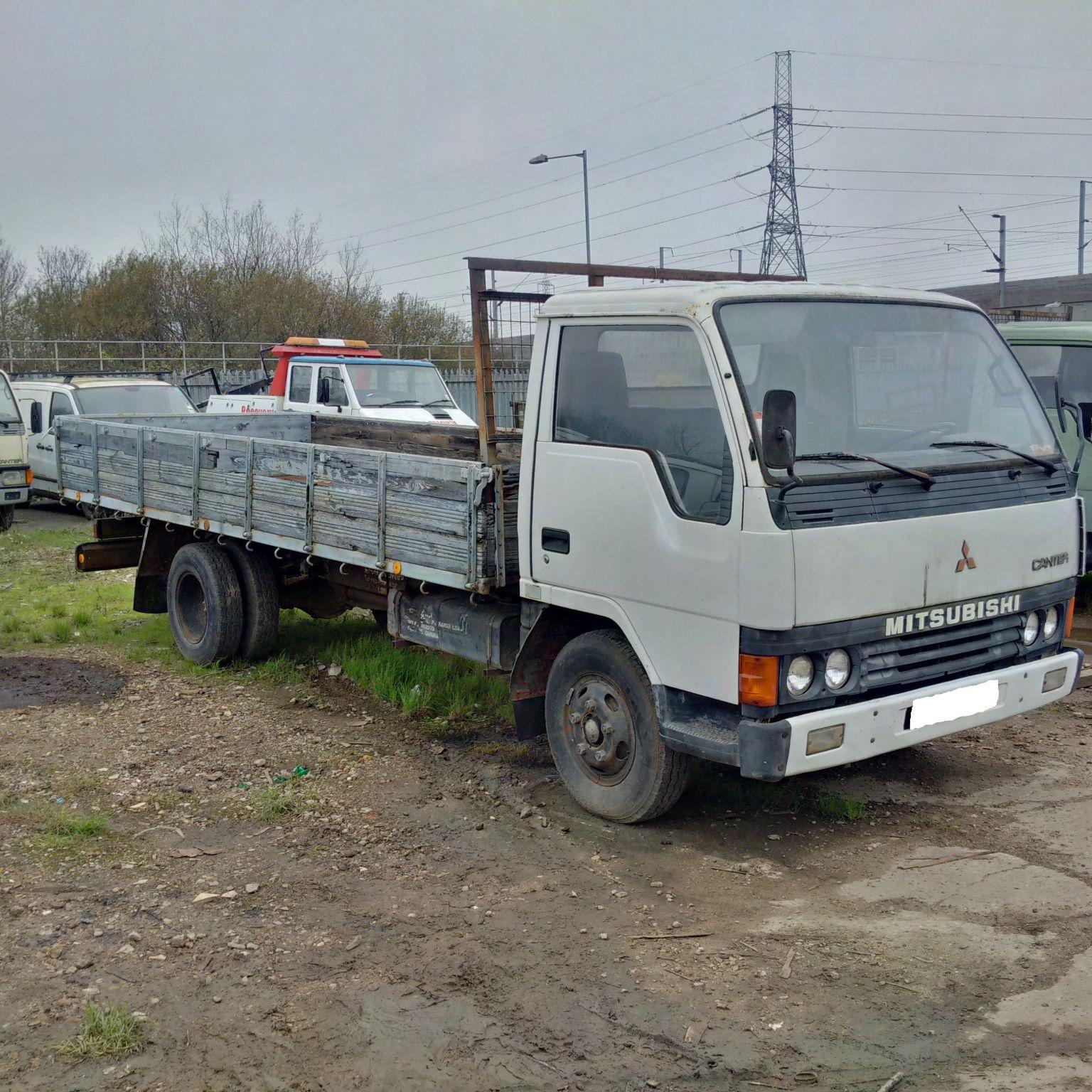 LHD Mitsubishi Canter