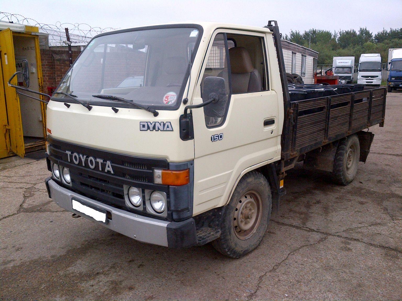 LHD Toyota Dyna 150