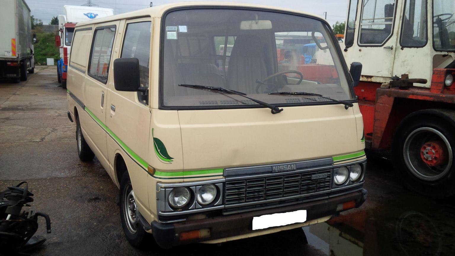 LHD Nissan Urvan