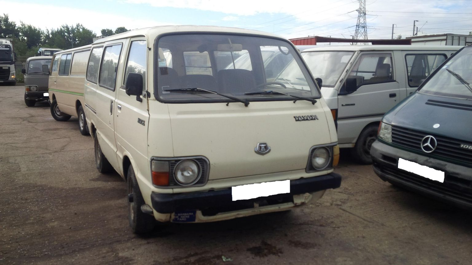 LHD Toyota Hiace