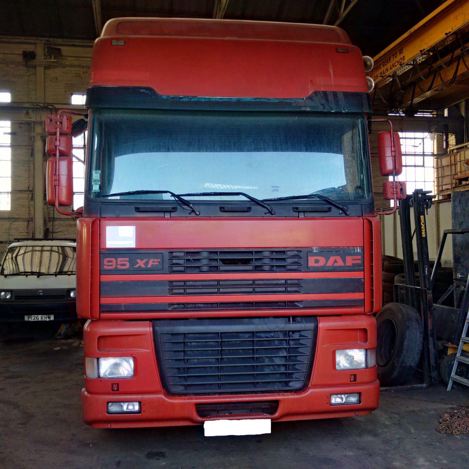 LHD DAF XF95.430