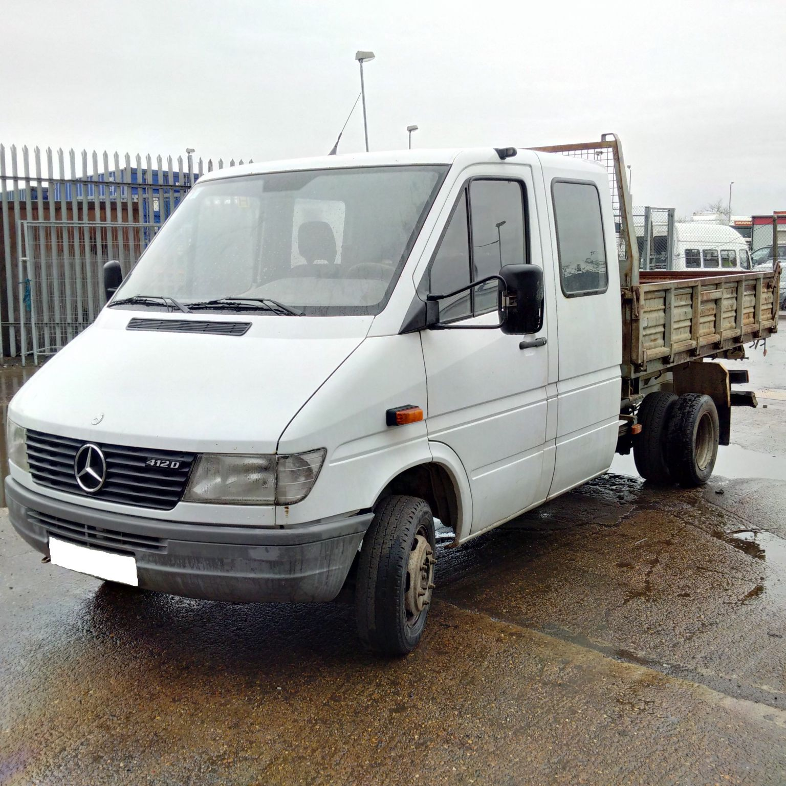 Left hand drive Mercedes Sprinter