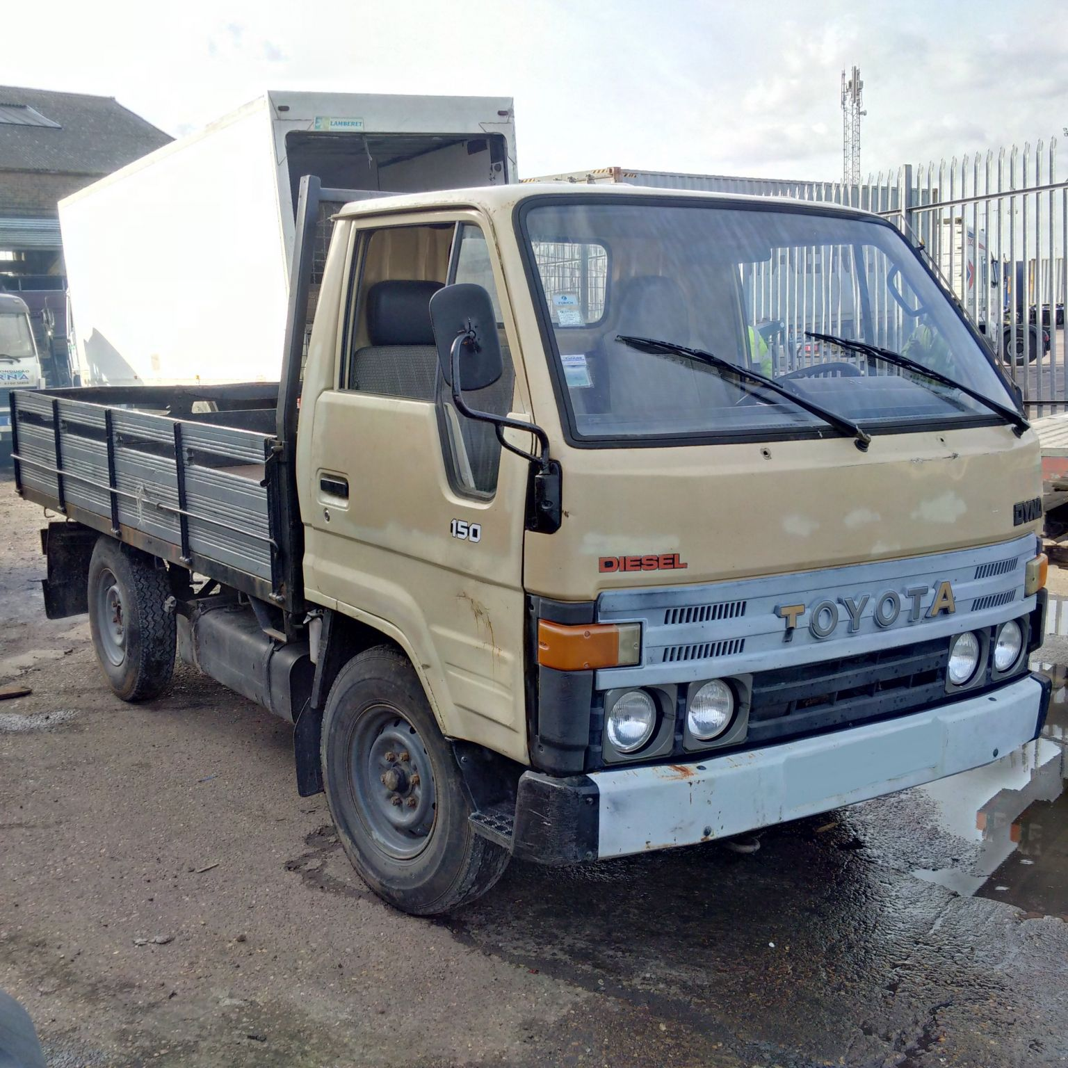 Left hand drive Toyota Dyna 150