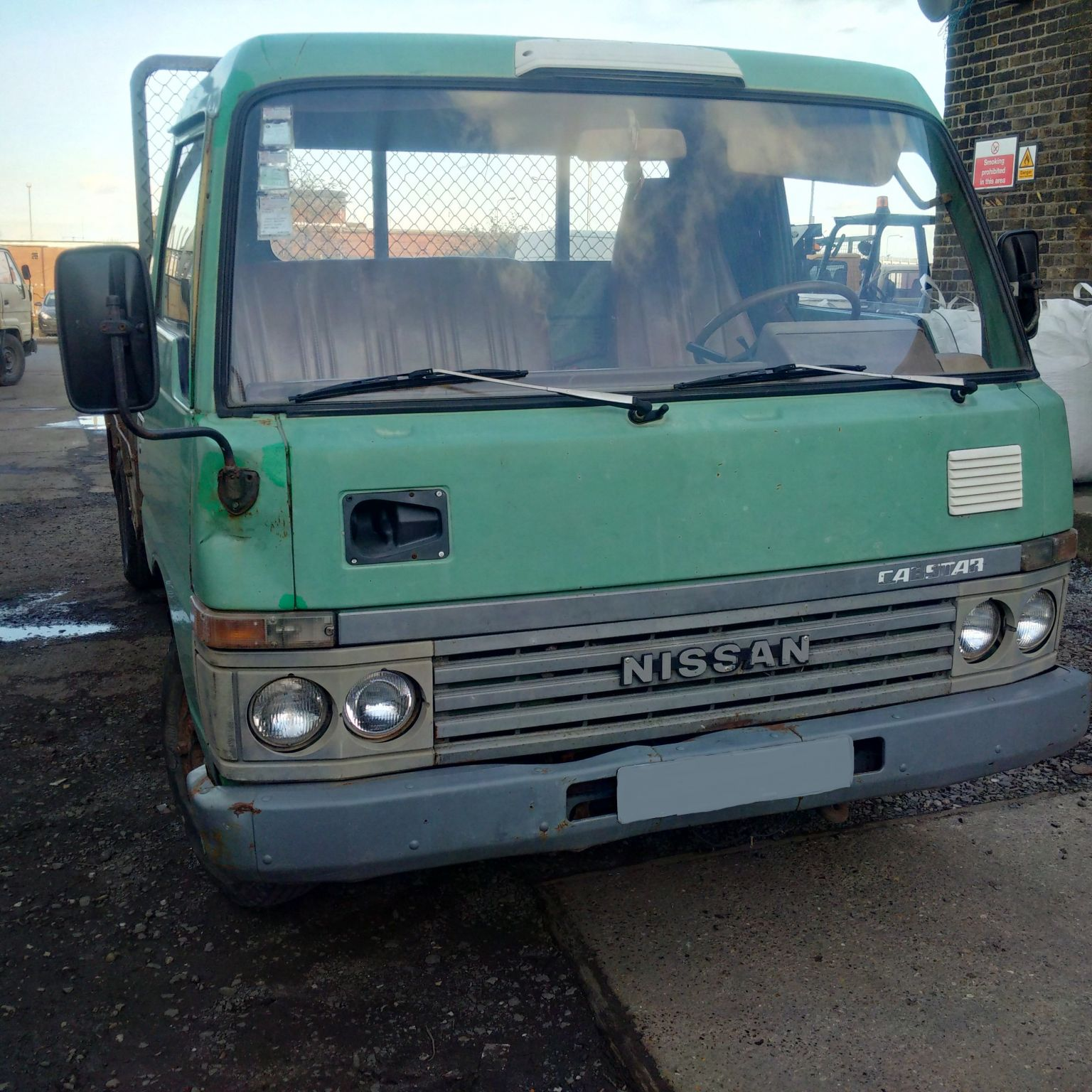 Left hand drive Nissan Cabstar 3.3 diesel 6 tyres