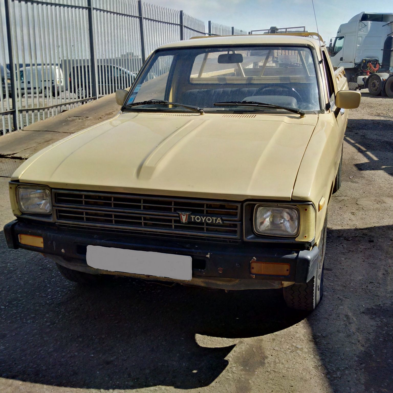 Left hand drive Toyota Hilux