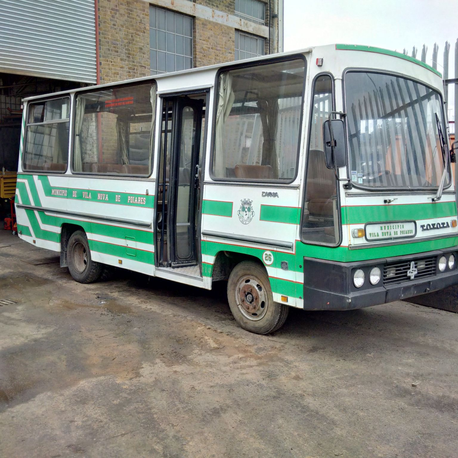 Left hand drive Toyota Dyna