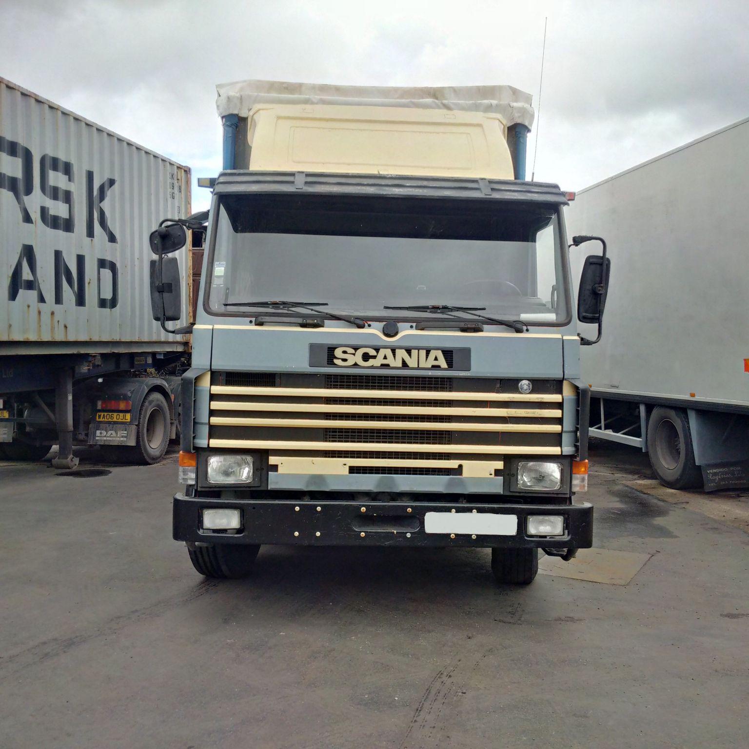 Drive Manual Scania