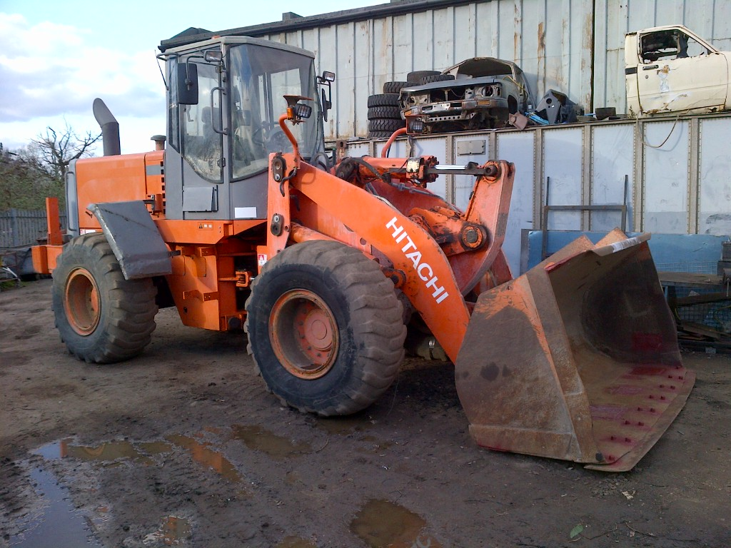 Hitachi LX 170 E wheel loader 7000 Hours. Air conditioning.