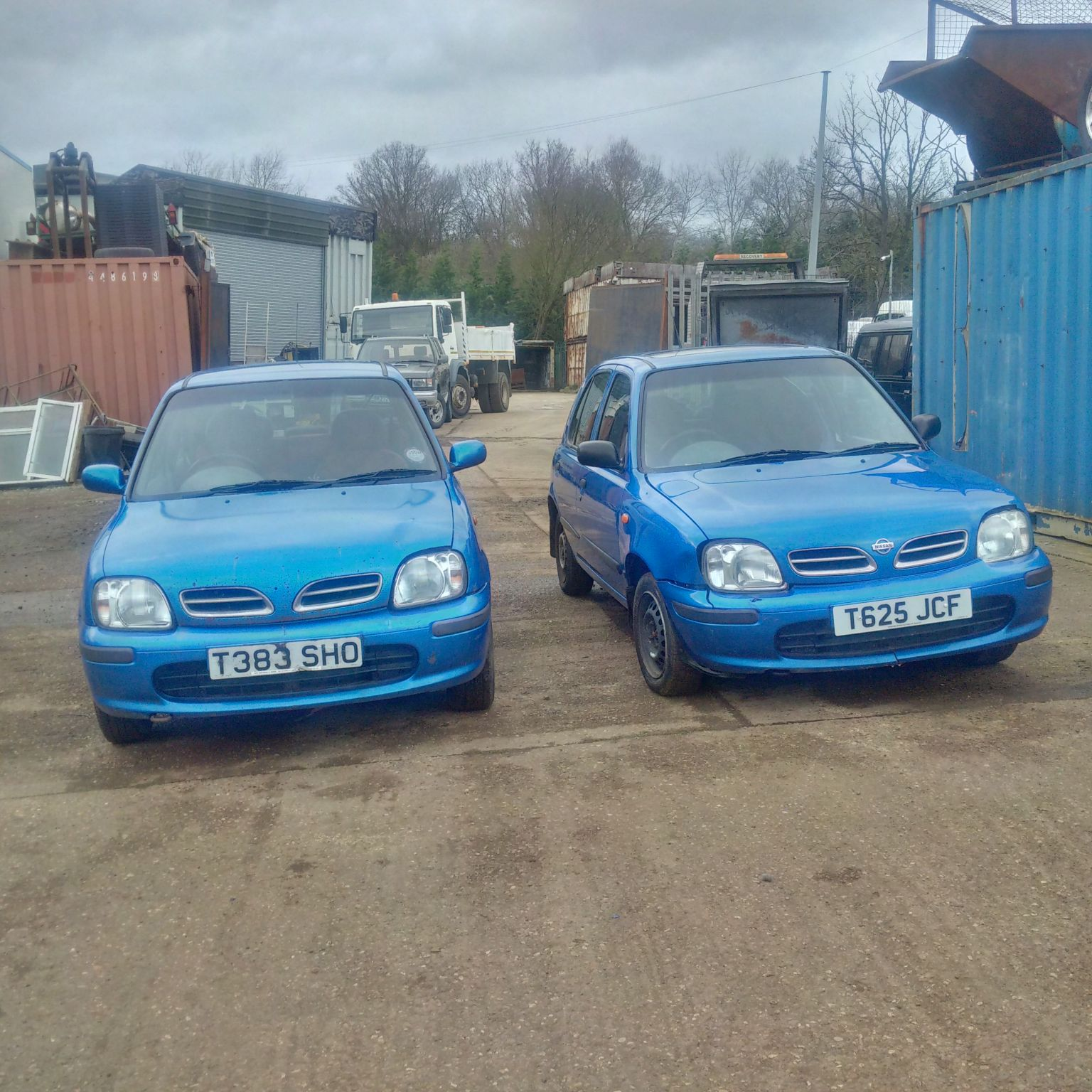 Nissan Micra 1.3 petrol 5 door. choice of 2. Cutting service available.
