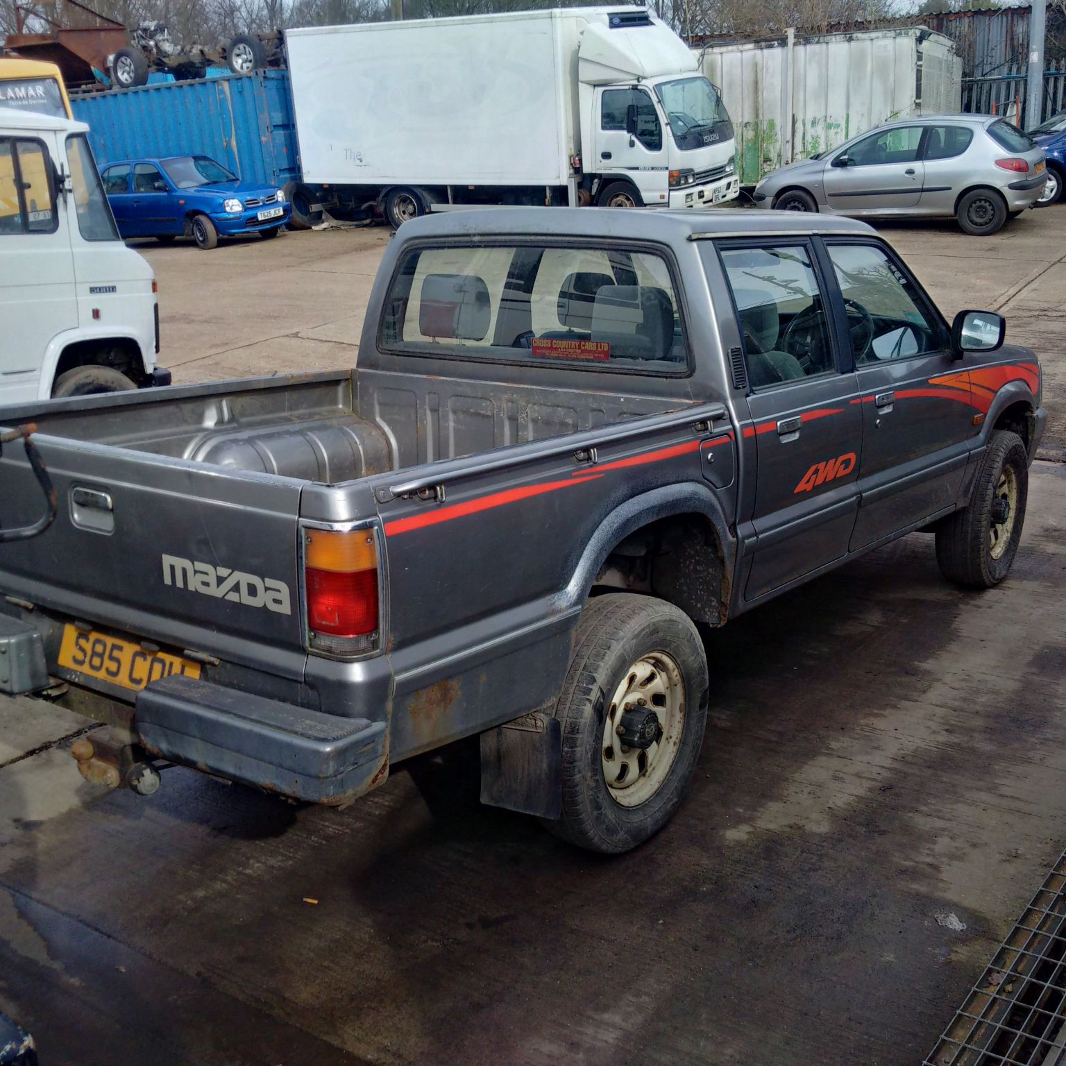 1998 Mazda B2500 4x4 Pick Up Simply Exports Engine Img 20170304 133820 Hdr 133831 133844 133855 133919