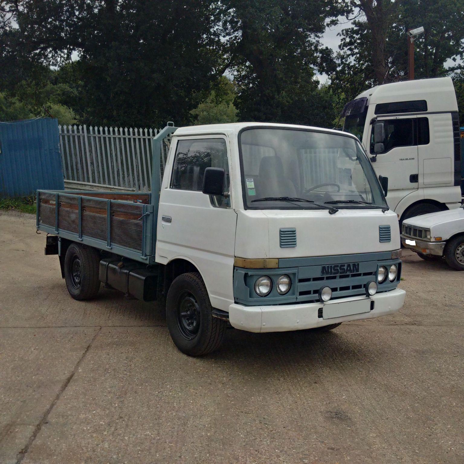 Left hand drive Nissan Cabstar TD25 2.5 diesel 3.5 Ton truck.