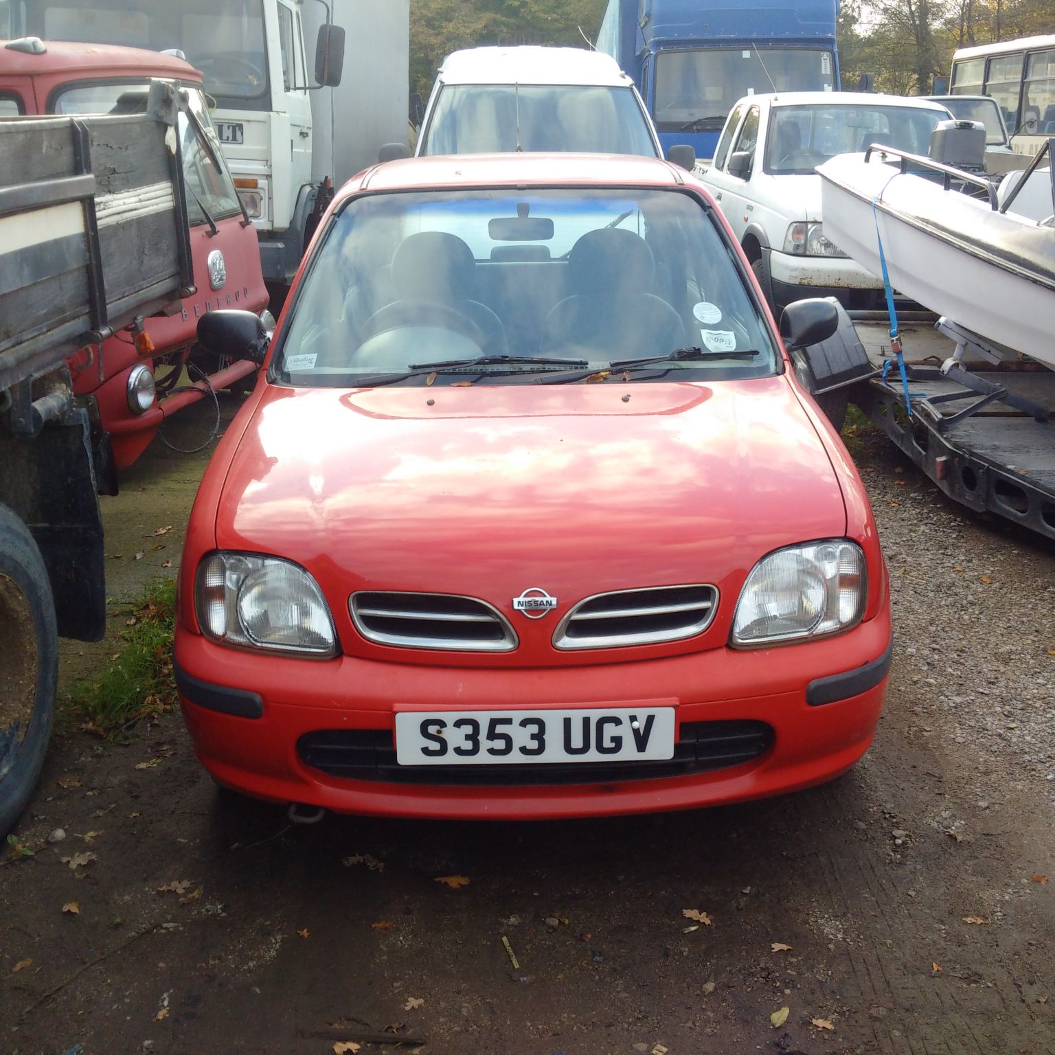 Nissan Micra 1.0 petrol 4 door car. Automatic gearbox.