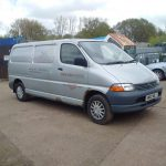 Toyota Hiace D4D 2.5 TD long wheel base panel van.