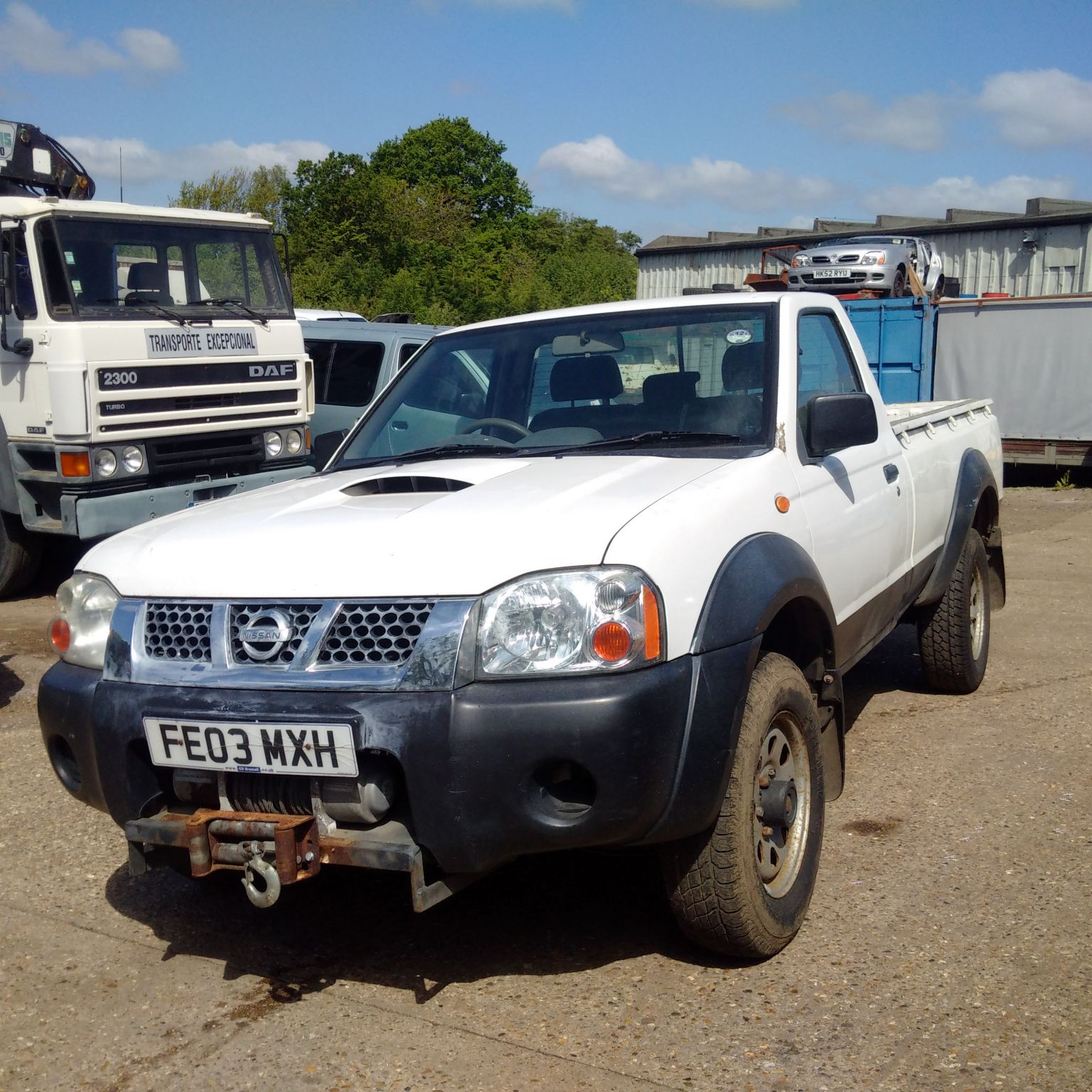 Nissan D22 2.5 DI 4X4 pick up truck.