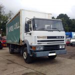 Left hand drive DAF 1900 Turbo Intercooling