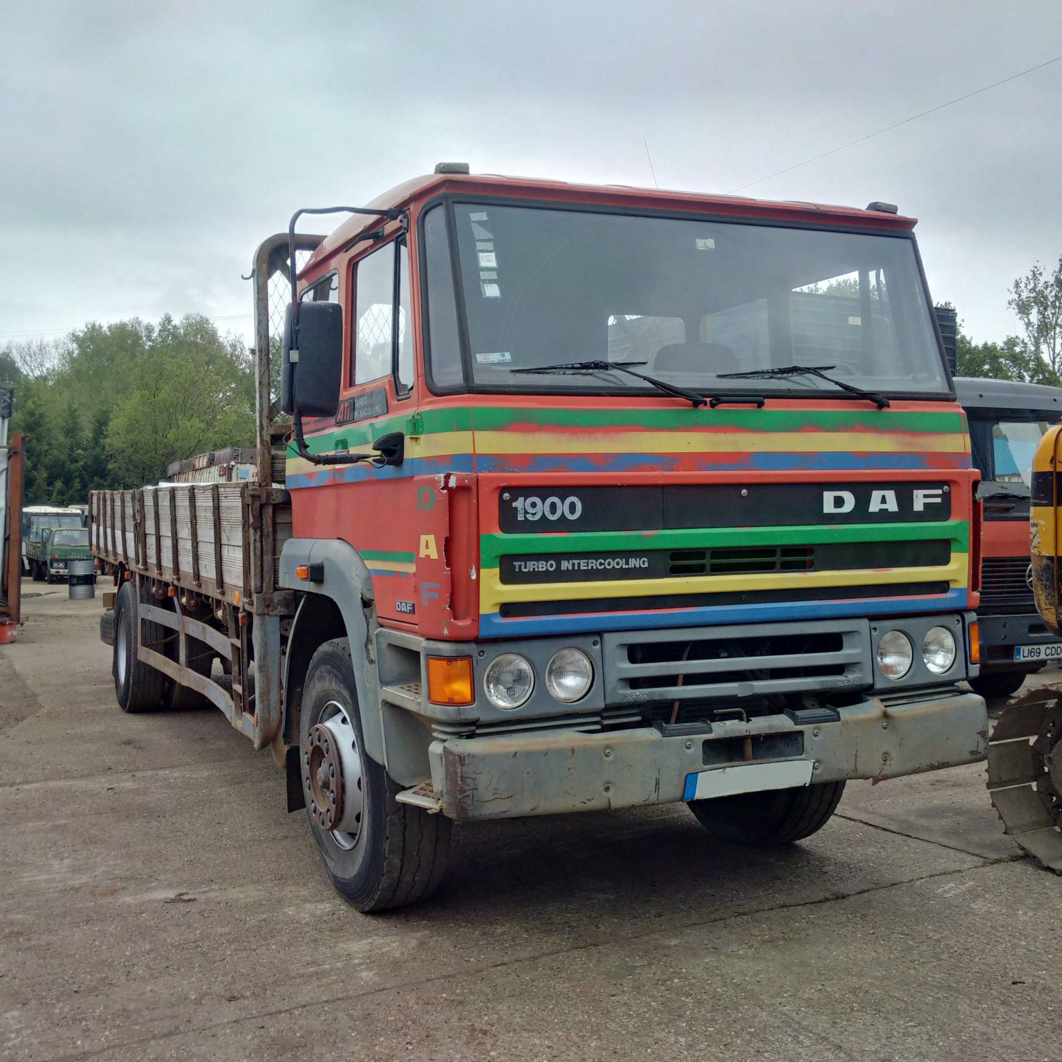 Left hand drive DAF 1900 ATI Turbo Intercooler 17.5 ton truck.