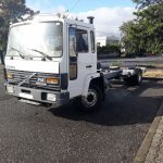 Left hand drive Volvo FL613 Turbo Intercooler chassis cab truck