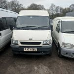 Ford Transit petrol and gas van.