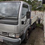 Nissan Cabstar 3.5 ton truck 2005 only 74000 miles