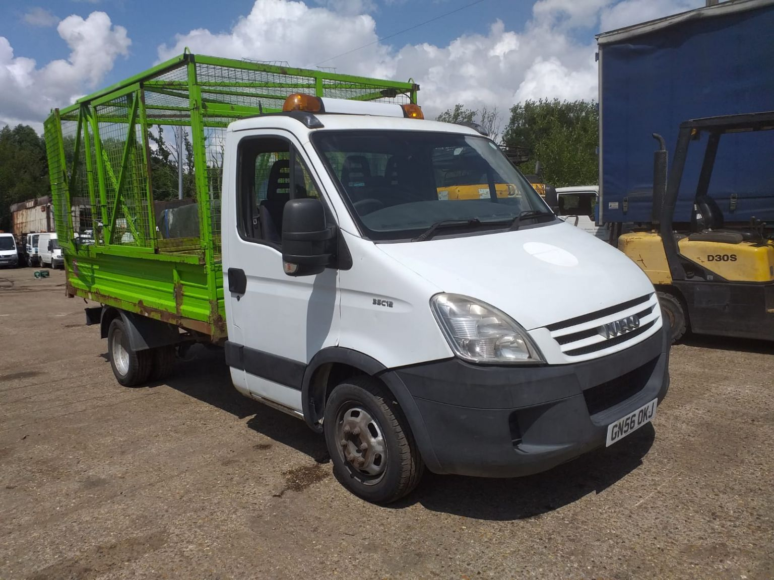 Iveco Daily Caged tipper, 2006, 3.5 ton, 130,000 miles, Council owned from new