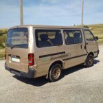 Left hand drive Toyota Hiace H15, Big Bumper, 2.4 diesel 9 seater mini bus