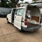 Left hand drive Toyota Hiace Powervan, 2LT engine