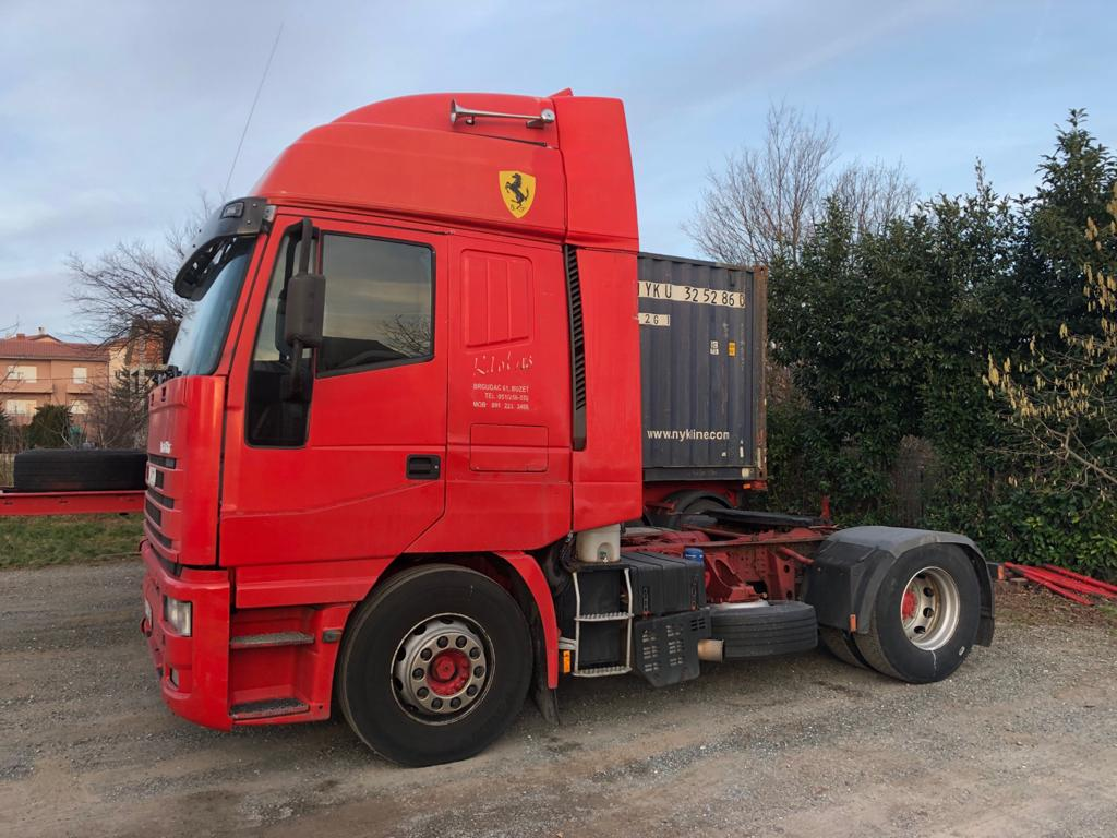 Left hand drive, Iveco Eurostar 440E43 Tractor unit, Manual gearbox, 44 ton, Air conditioning, Retarder
