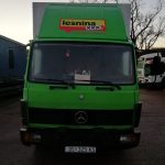 Left hand drive, Mercedes-Benz 814 Curtainsider 6 Cylinder