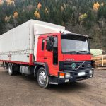 LEFT HAND DRIVE Volvo FL6.14 Curtainside truck