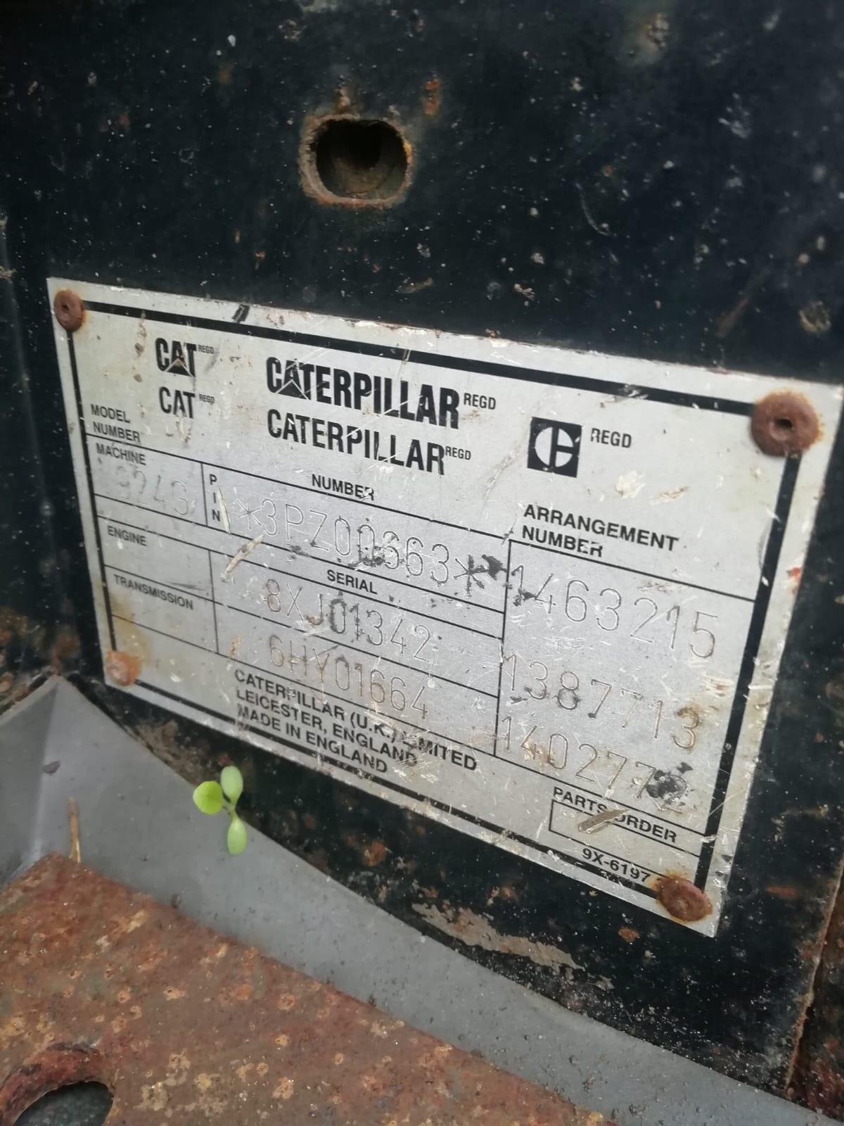 Caterpillar-924G-loading-shovel, YOM 2000, Only 6000hrs