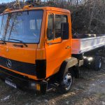 Left hand Drive, Mercedes-Benz, 814, 3 way tipper, 6 cylinder