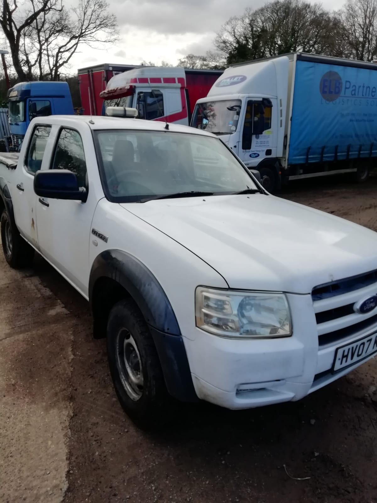 Ford Ranger 2.5TDCi ( 143PS ) 4×4, Double Cab, One company owner from new