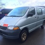 Left hand drive Toyota Hiace Powervan, SWB, 1998 with 2LT engine