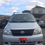 Left Hand drive, Toyota Hiace Powervan, LWB, 2004, double doors, rear barn doors