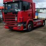 LHD Scania 124L, Tractor unit / Trailer head 4×2, Manual gearbox,  440hp, Air conditioning, YOM: 2003