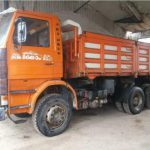 Left hand drive Scania 142h, V8 engine, 6×4, 3 way tipper,1991, Manual pump and injectors