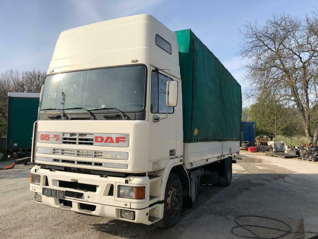 Left Hand Drive, DAF 95 ATi, Manual pump and injectors, Manual gearbox,