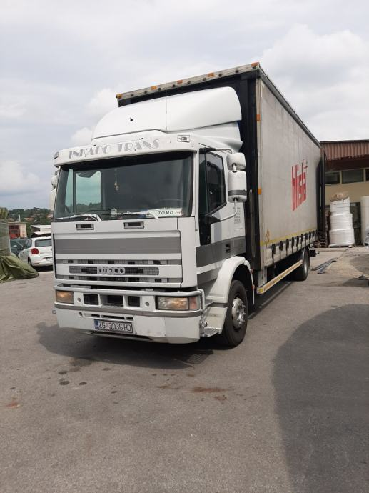 Left hand drive, Iveco Eurocargo 270hp, 15 ton, Curtainsider, manual pump and injectors