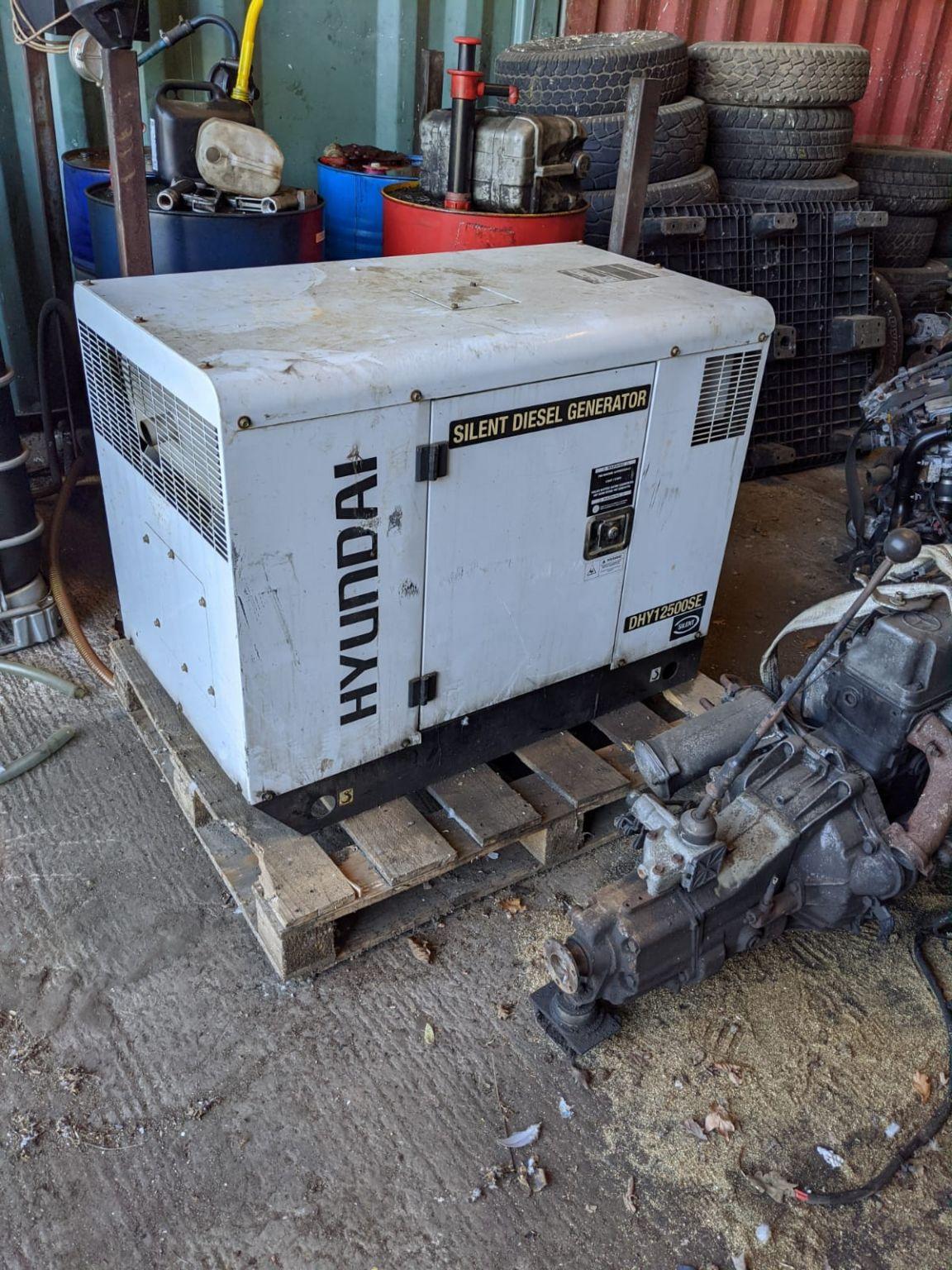 Hyundai 10Kw / 12.5 Kva, Diesel Standby Generator DHY12500SE