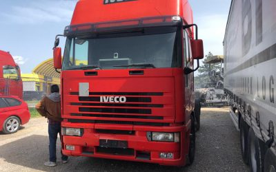 Left hand drive Iveco Eurostar trailer head, 470hp Manual pump & Injectors